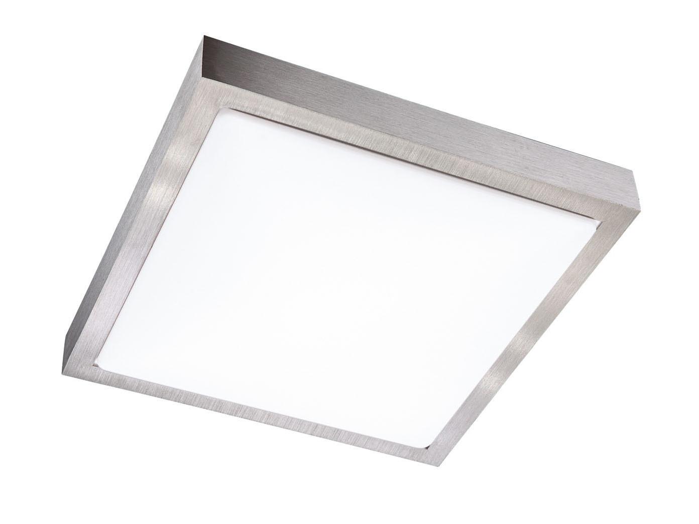 Moderne led deckenleuchte quadratisch cm action by wofi
