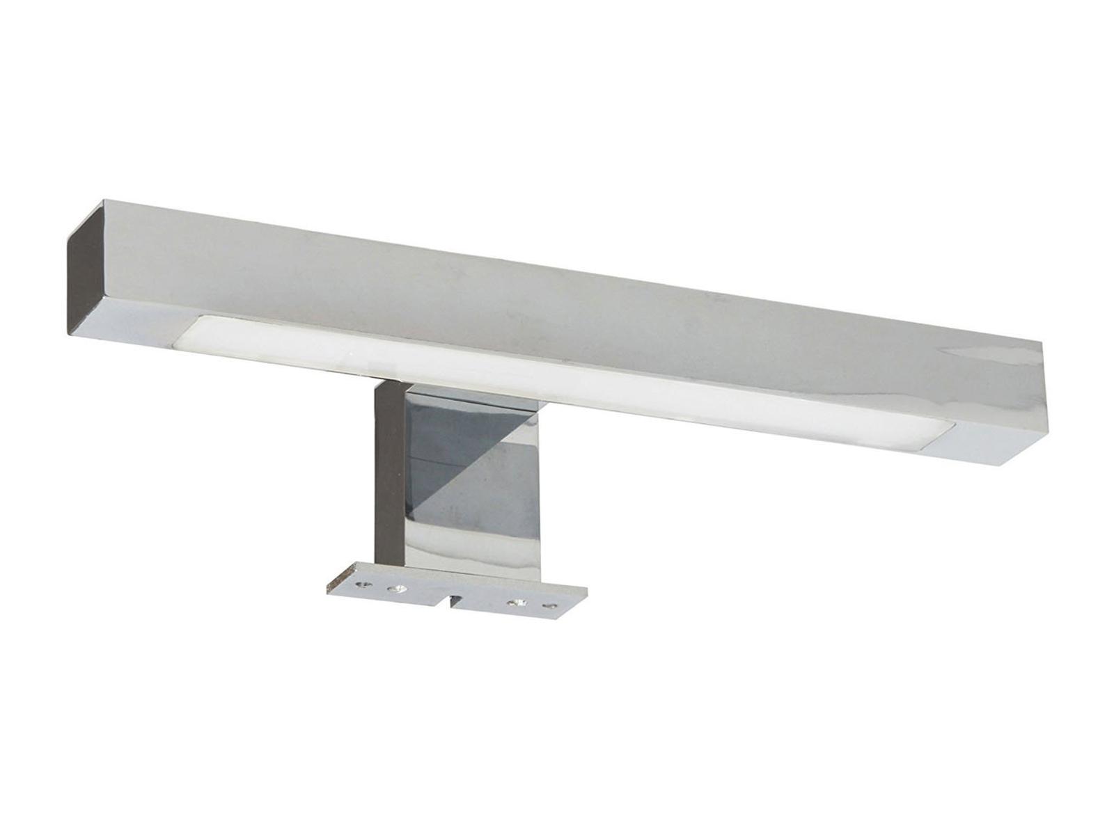 Moderne, Chrom glänzende LED Spiegelleuchte REGGIANA fürs Badezimmer ...