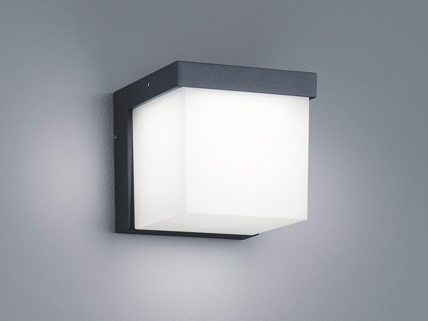 Design Außenleuchten led außenwandleuchte terrassenbeleuchtung wand design würfel