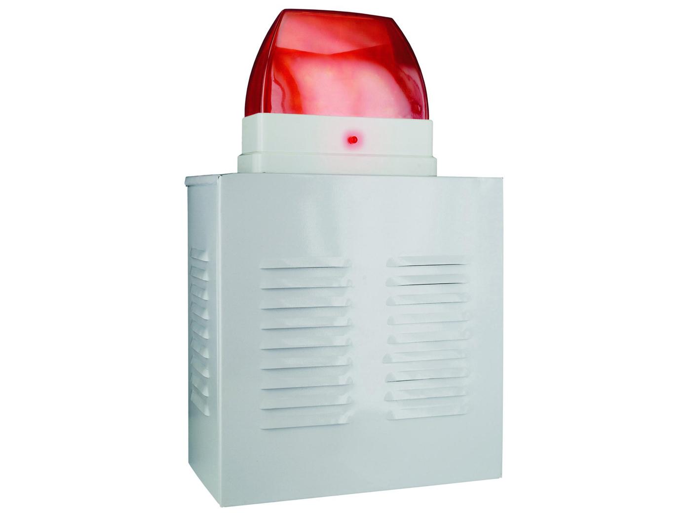 Dummy-Alarmanlagen-Fassadenbox-Aluminium-mit-Blink-LED-batteriebetr