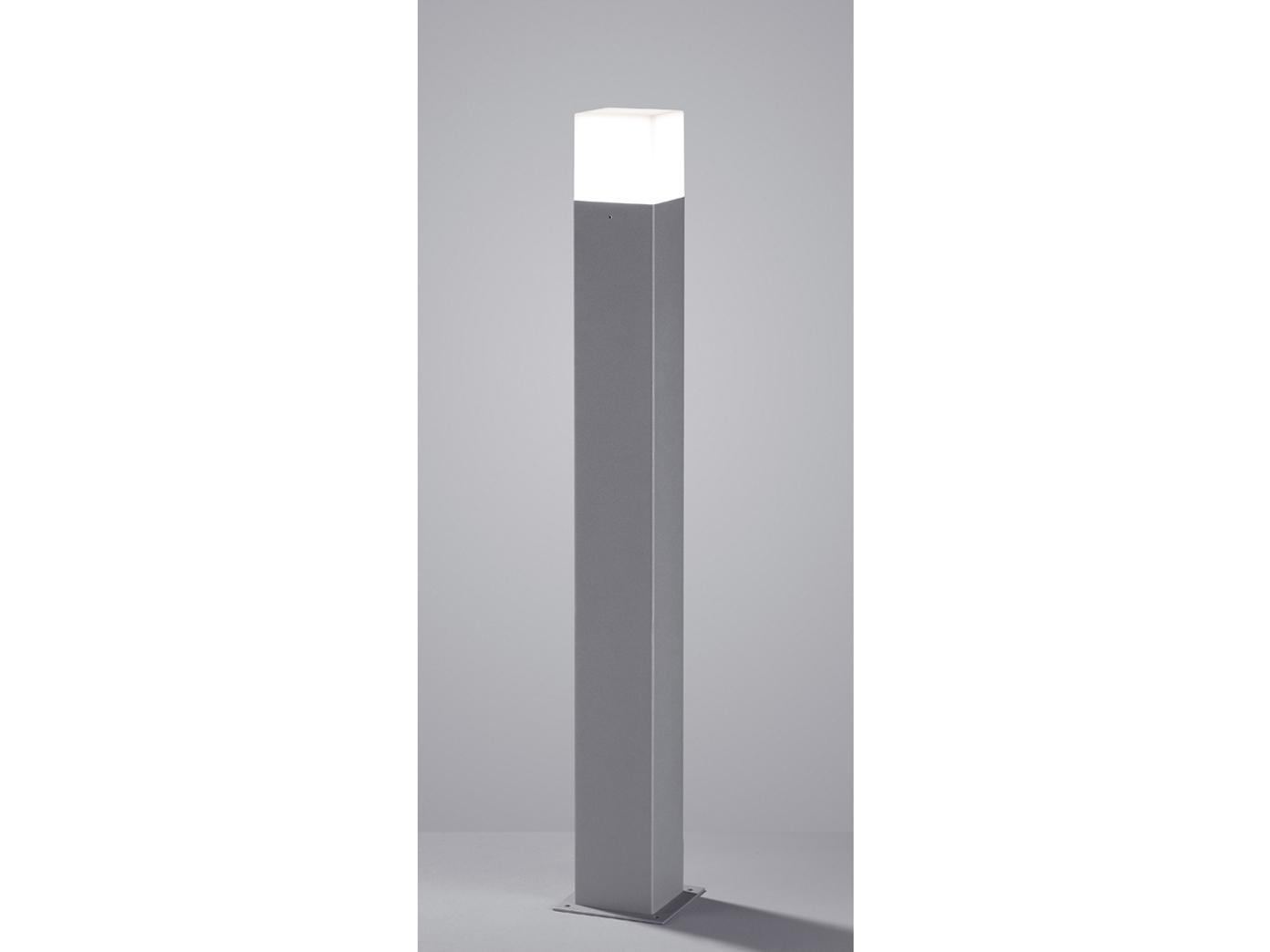 LED Außen-Standleuchte HUDSON, titan, inkl. 1 x E14, 4 W, H.: 80cm