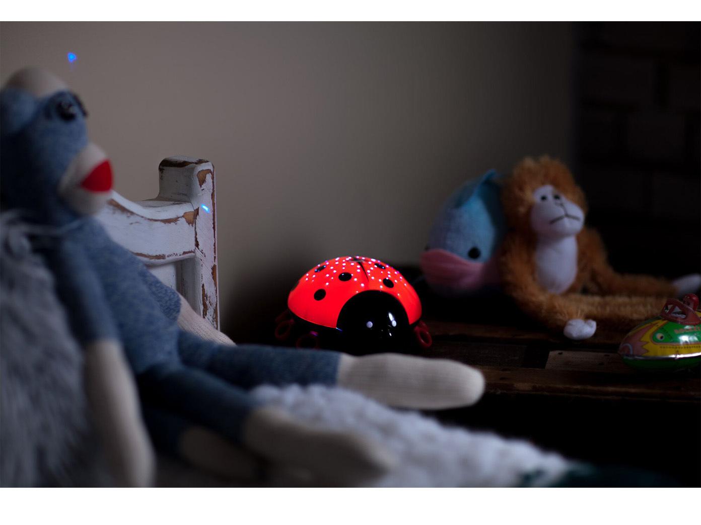 schlummerlicht led farbwechsler nachthimmel nachtlicht baby dekoleuchte ebay. Black Bedroom Furniture Sets. Home Design Ideas