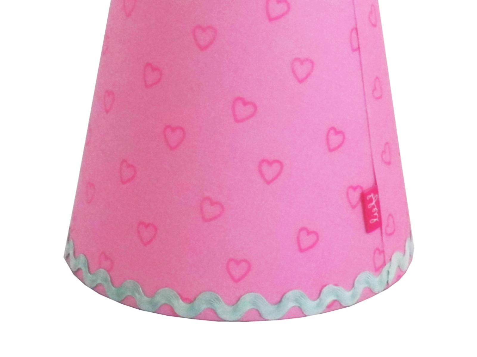 Kronleuchter Rosa ~ Lampenschirm rosa mit herzen für lief! kronleuchter und wandlampe