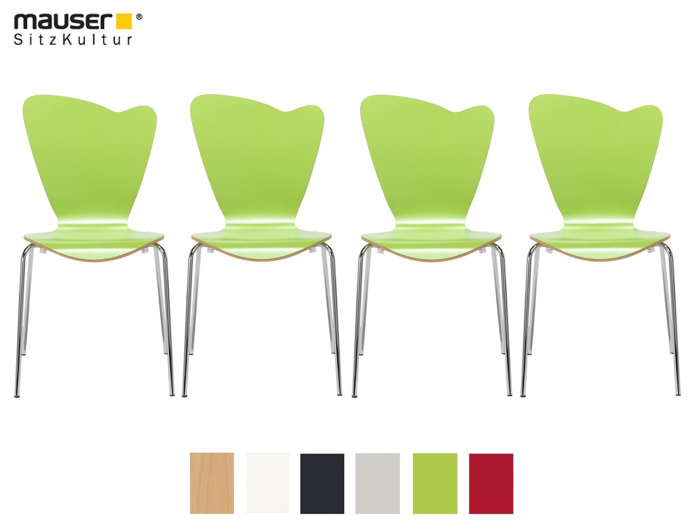 Anspruchsvoll Esszimmerstühle Grün Das Beste Von Das Bild Wird Geladen 4er-design-stuhl-heart-gruen-stapelstuhl- Esszimmerstuhl-bistrostuhl-