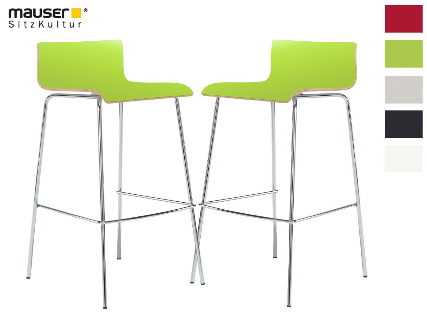 Hochwertige küchenhocker  2er-Set Design Barhocker grün; Barstuhl Küchenhocker Hocker ...