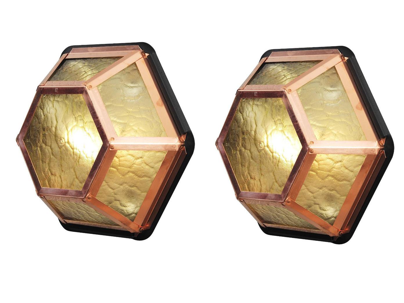 Außenle Kupfer 2er set konstsmide außenleuchte kupfer wandleuchte deckenleuchte