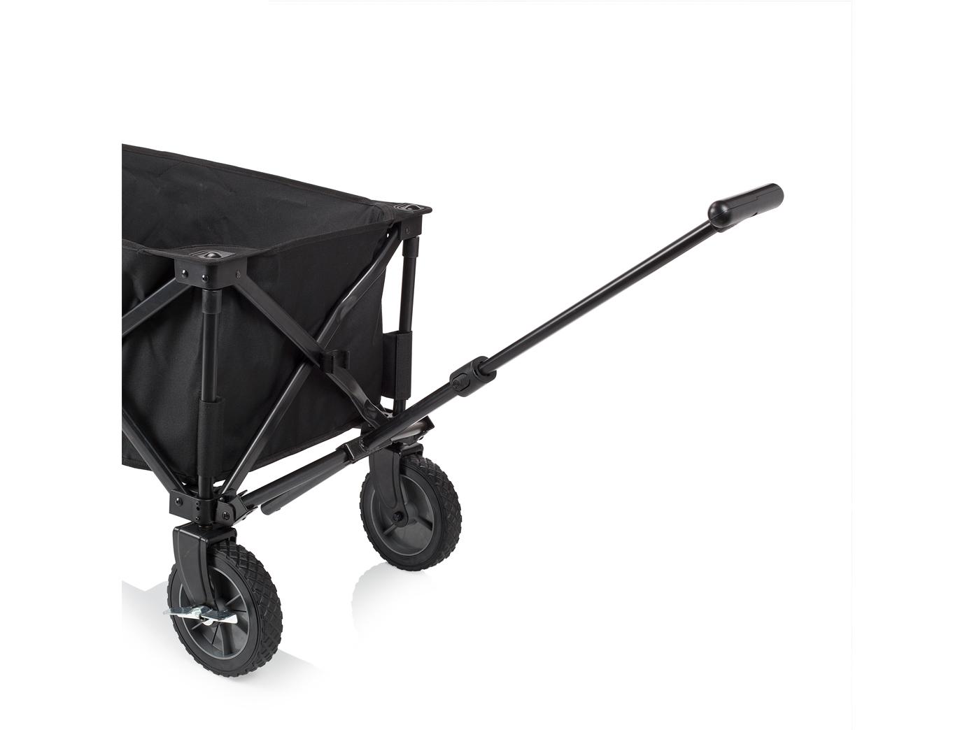 bollerwagen zum zusammenklappen mit bremse kinder strandwagen faltbar klappbar ebay. Black Bedroom Furniture Sets. Home Design Ideas