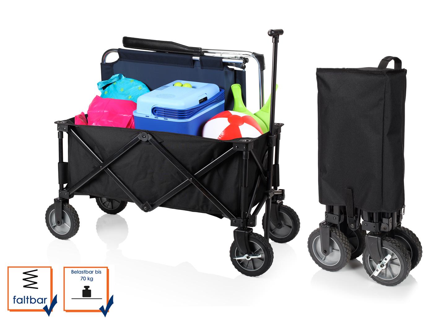 chariot tirer pour ensemble clapets avec frein enfants plage voiture pliable pliant ebay. Black Bedroom Furniture Sets. Home Design Ideas