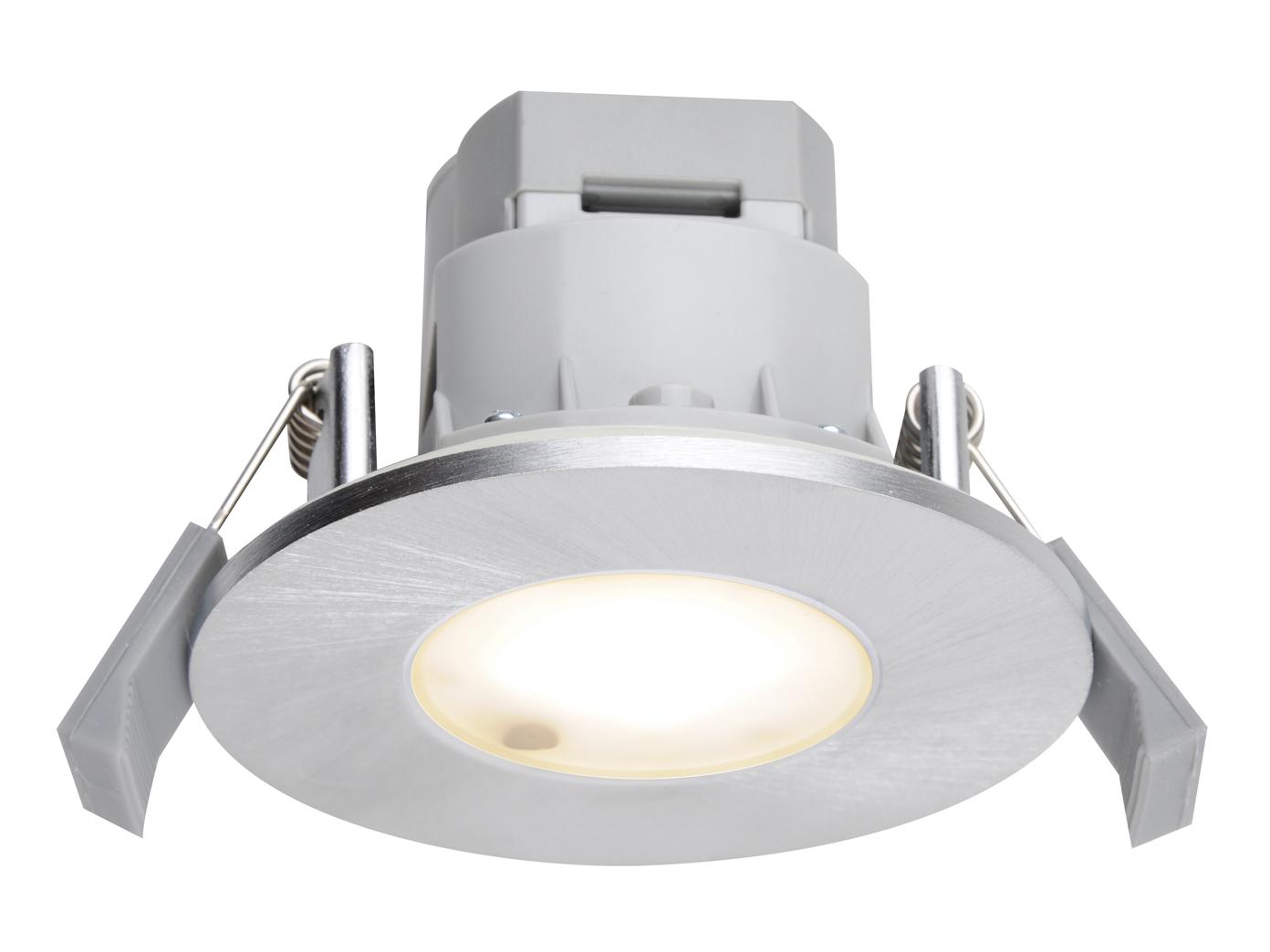 LED-Einbaustrahler Alu gebürstet, Ø 8,5 cm, 7W, IP65, Trio-Leuchten ...