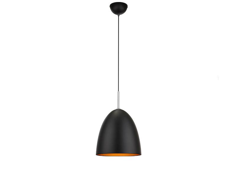 led h ngeleuchte dimmbar schwarz gold pendelleuchte k chenlampe esstisch ebay. Black Bedroom Furniture Sets. Home Design Ideas