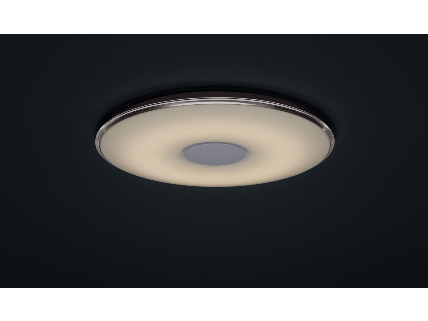 led deckenleuchte 60cm lichtfarbe einstellbar dimmbar trio leuchten ebay. Black Bedroom Furniture Sets. Home Design Ideas
