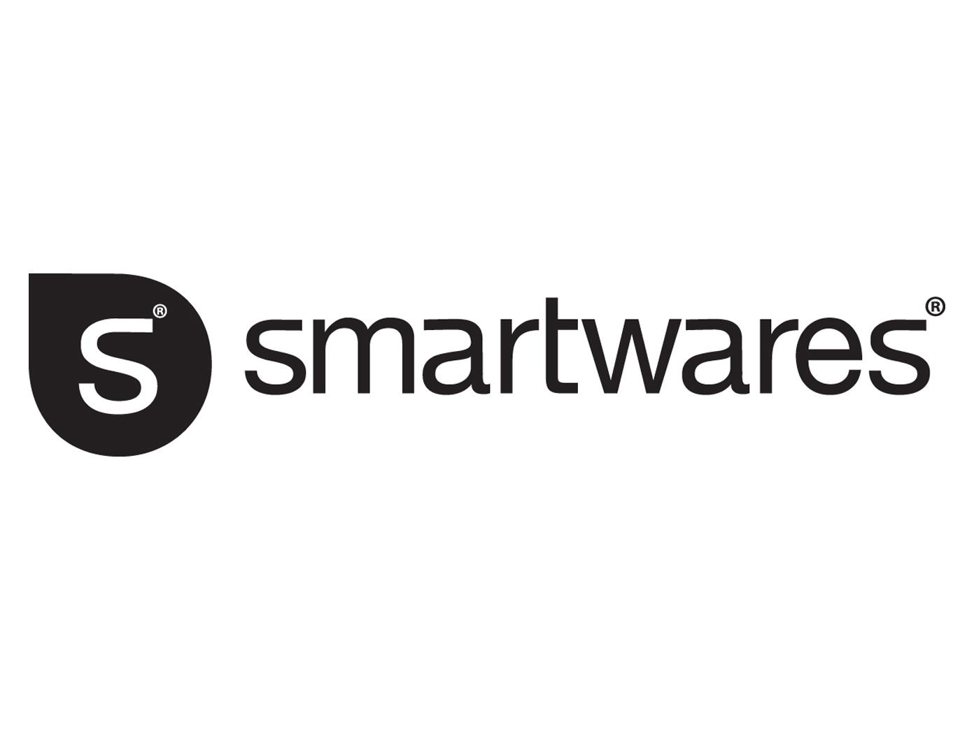 Smartwares Rauchwarnmelder Weiß TÜV zertifiziert - Brand Feuer Melder Alarm